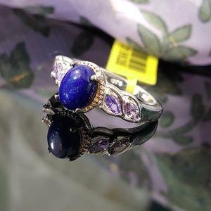 Jewelry - Lapis Lazuli n Purple CZ